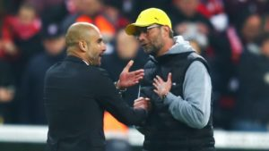 Guardiola vs Kloop - Top 4 Exciting Encounters between Guardiola and Kloop teams