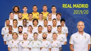 CHECK OUT REAL MADRID SQUAD 2019/2020 Season
